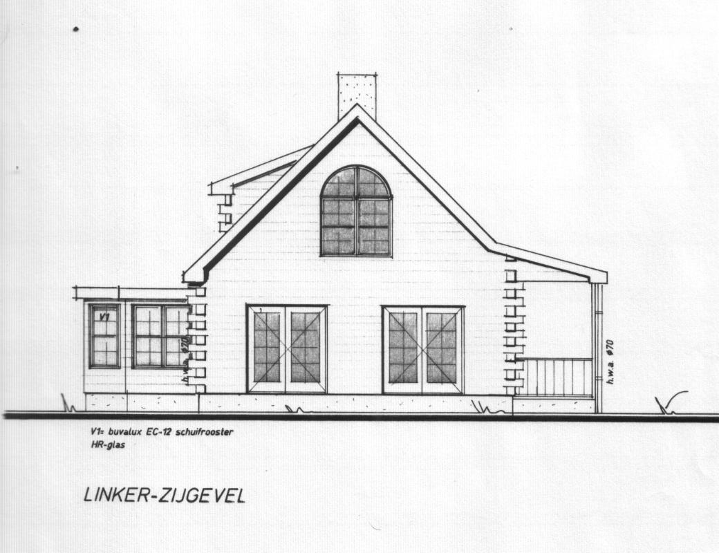 Bouwtekening model Markesse 9 003