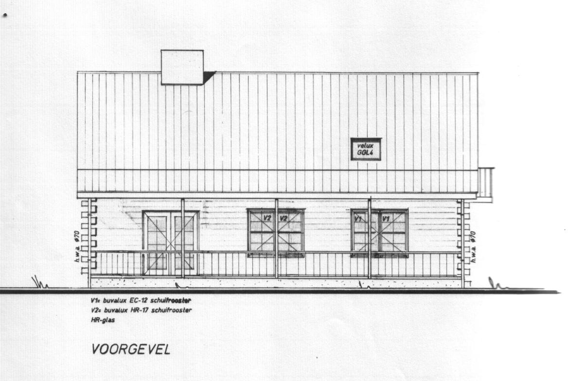 Bouwtekening model Markesse 9