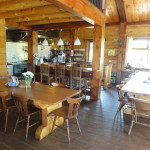 Recreatie zaal Log home Pension